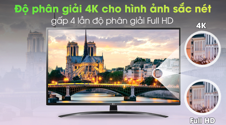 Ultra HD 4K - Smart Tivi LG 4K 43 inch 43UN7400PTA