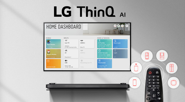 Smart Tivi LG 4K 49 inch 49UN7400PTA - Magic Remote