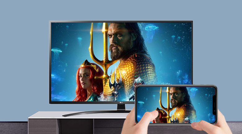 Smart Tivi LG 4K 49 inch 49UN7400PTA - Screen Mirroring, AirPlay 2