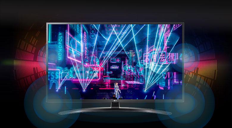 Smart Tivi LG 4K 55 inch 55UN7400PTA - Chế độ âm thanh vòm Ultra Surround