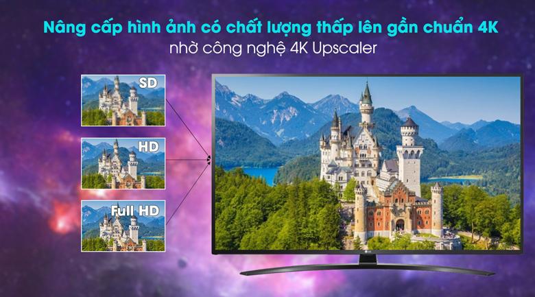 Smart Tivi LG 4K 55 inch 55UN7400PTA - 4K Upscaler