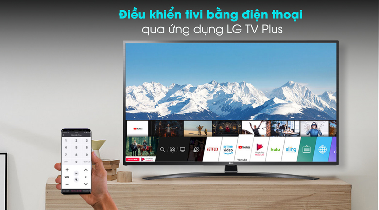 Smart Tivi LG 4K 55 inch 55UN7400PTA - LG TV Plus