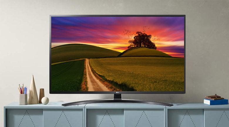 Smart Tivi LG 4K 55 inch 55UN7400PTA - Thiết kế tinh tế