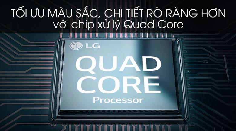 Smart Tivi LG 4K 65 inch 65UN7400PTA - Bộ xử lý Quad Core