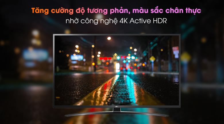 Smart Tivi LG 4K 65 inch 65UN7400PTA - Công nghệ 4K Active HDR