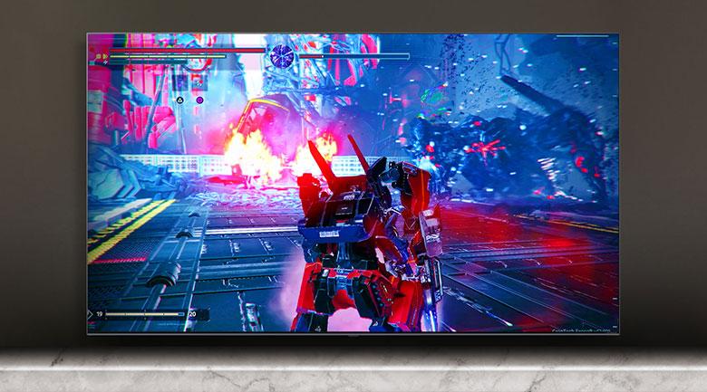 Smart Tivi NanoCell LG 4K 55 inch 55NANO81TNA - Công nghệ HGiG cho độ trễ đầu vào tối thiểu