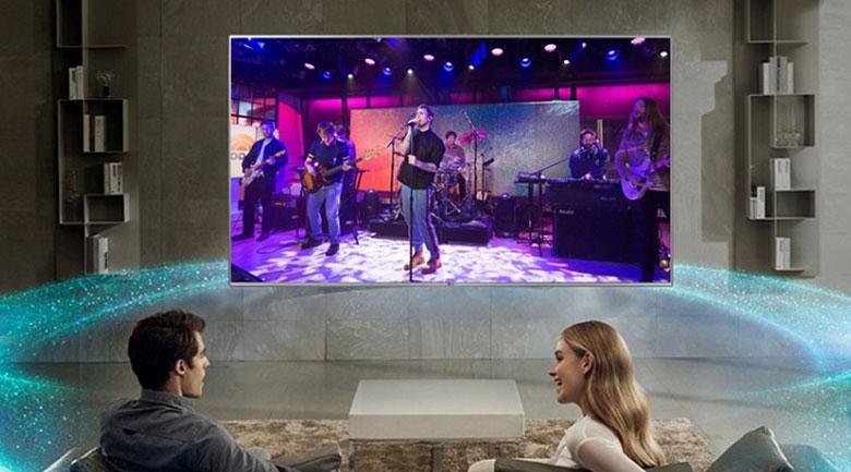 Smart Tivi NanoCell LG 4K 55 inch 55NANO81TNA - Công nghệ âm thanh DTS Virtual:X