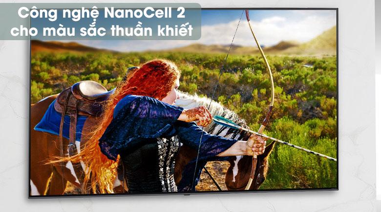 Smart Tivi NanoCell LG 4K 55 inch 55NANO81TNA - Công nghệ NanoCell 2