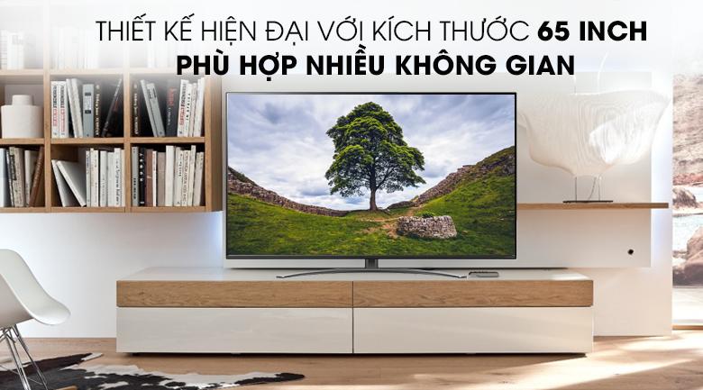 Smart Tivi LG 4K 65 inch 65NANO81TNA - Thiết kế hiện đại