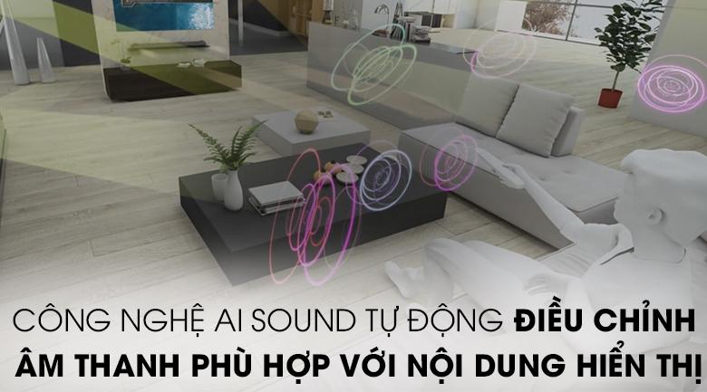 Smart Tivi LG 4K 65 inch 65NANO81TNA - Công nghệ AI Sound