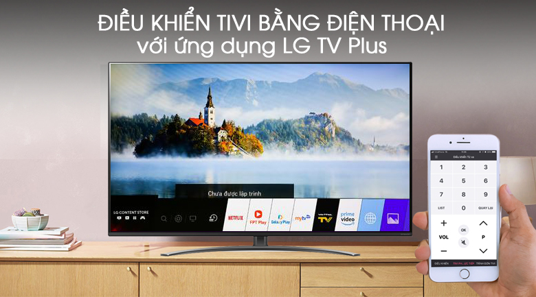 Smart Tivi LG 4K 65 inch 65NANO81TNA - LG TV Plus