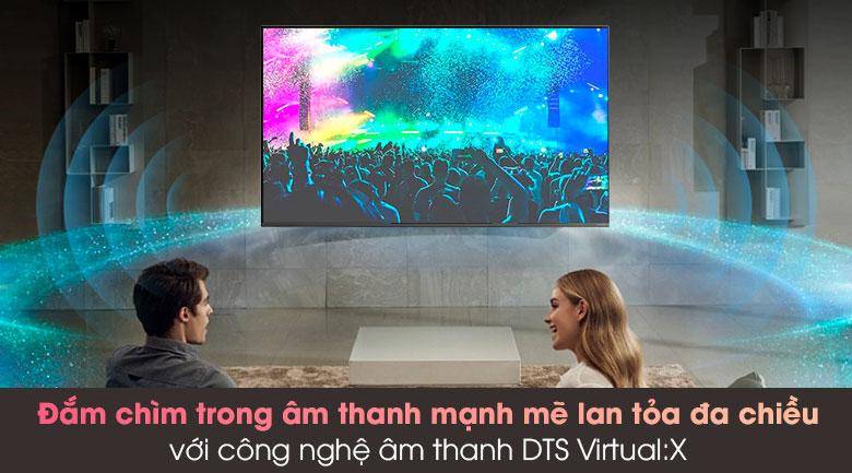 Smart Tivi LG 4K 65 inch 65NANO81TNA - Công nghệ DTS Virtual:X cho âm thanh lan tỏa mạnh mẽ