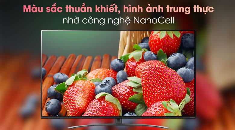 Smart Tivi LG 4K 65 inch 65NANO81TNA - Công nghệ NanoCell cho màu sắc thuần khiết hơn