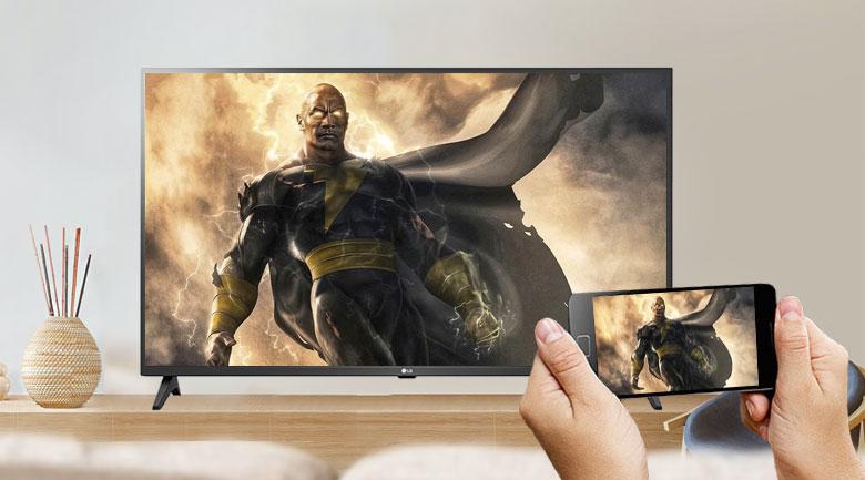 Smart Tivi LG 4K 43 inch 43UN7290PTF - Chia sẻ màn hình điện thoại với tivi tiện lợi