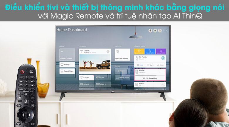 Smart Tivi LG 4K 55 inch 55UN7290PTF - Magic Remote