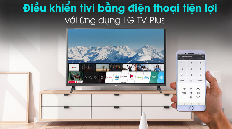 Smart Tivi LG 4K 55 inch 55UN7290PTF - LG TV Plus