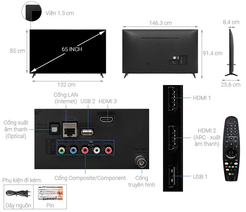Smart Tivi LG 4K 65 inch 65UN7290PTF