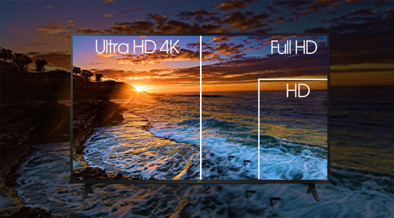 Smart Tivi LG 4K 65 inch 65UN7290PTF - Độ phân giải Ultra HD 4K