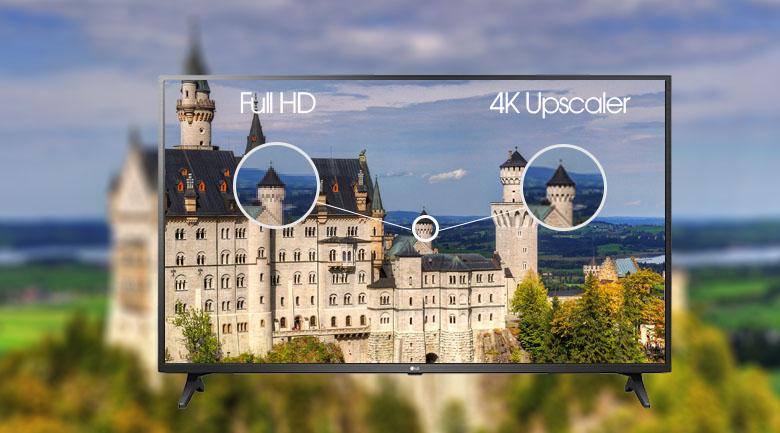 Smart Tivi LG 4K 65 inch 65UN7290PTF - Công nghệ 4K Upscaler