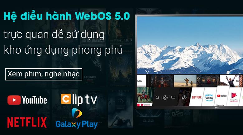 Smart Tivi LG 4K 65 inch 65UN7290PTF - Hệ điều hành WebOS 5.0