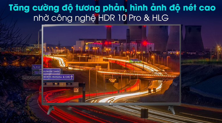 Smart Tivi LG 4K 65 inch 65UN7290PTF - Công nghệ 4K Active HDR