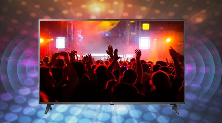 Chế độ âm thanh vòm Ultra Surround - Smart Tivi LG 4K 75 inch 75UN7290PTF