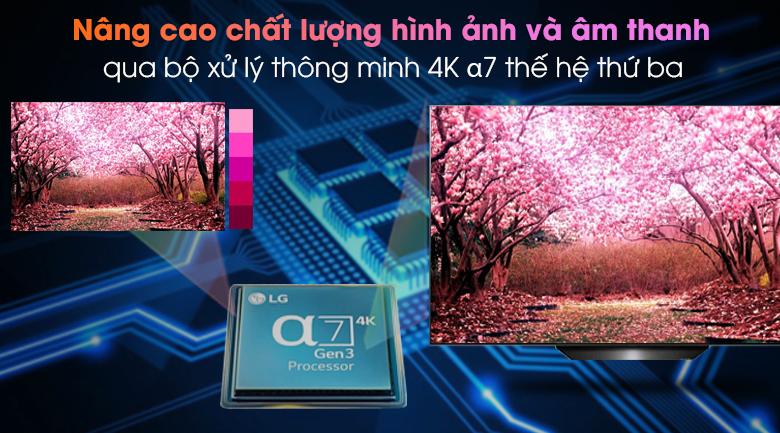 Bộ xử lý thông minh - Smart Tivi OLED LG 4K 55 inch 55BXPTA