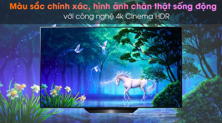 4K Cinema HDR - Smart Tivi OLED LG 4K 55 inch 55BXPTA