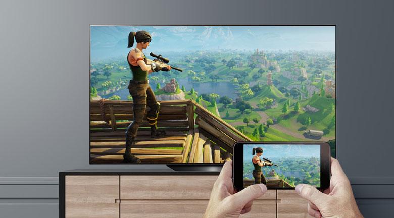 Chiếu màn hình - Smart Tivi OLED LG 4K 55 inch 55BXPTA