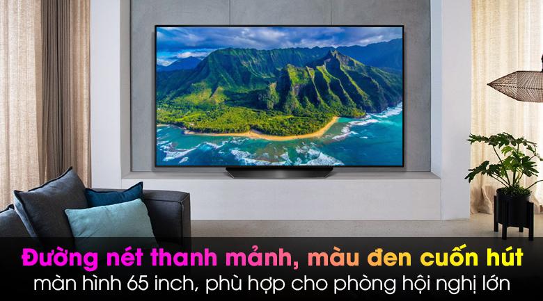 Smart Tivi OLED LG 4K 65 inch 65BXPTA - Thiết kế thanh mảnh, sang trọng