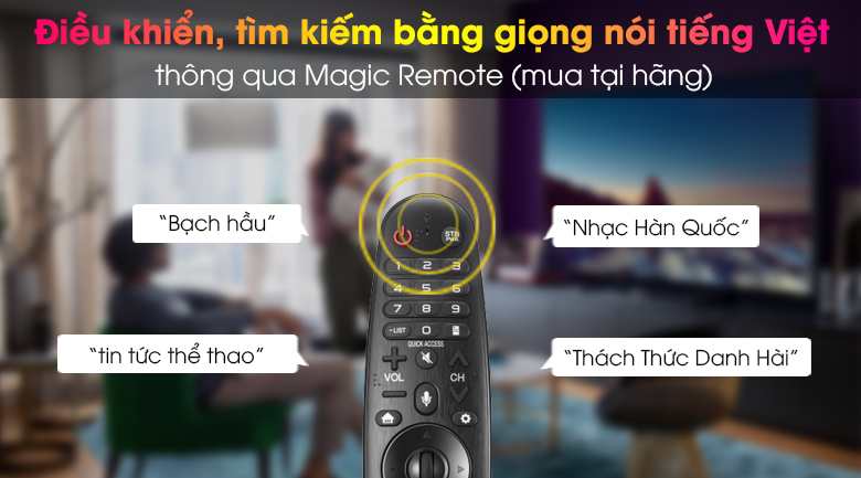 Smart Tivi OLED LG 4K 65 inch 65BXPTA - Magic Remote