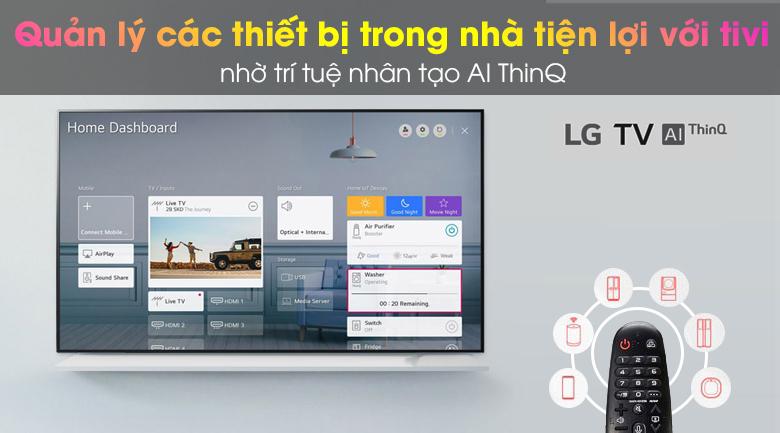 Smart Tivi OLED LG 4K 65 inch 65BXPTA - AI ThinQ