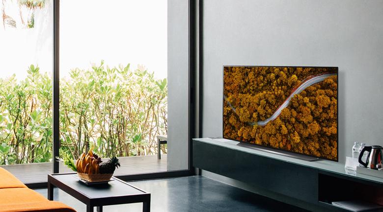 Smart Tivi OLED LG 4K 55 inch 55CXPTA - Thiết kế tối giản, sang trọng