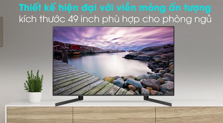 Android Tivi Sony 4K 49 inch KD-49X9500H - Thiết kế hiện đại, sang trọng