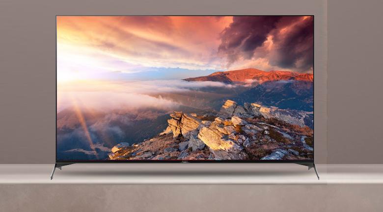 Android Tivi Sony 4K 55 inch KD-55X9500H - Thiết kế với màu đen quý phái, viền siêu mỏng