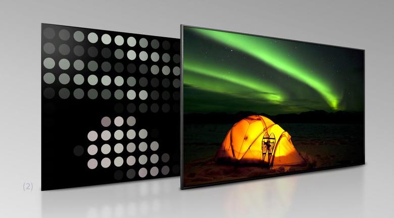 Android Tivi Sony 4K 55 inch KD-55X9500H - Nâng độ tương phản nhờ công nghệ Full Array LED