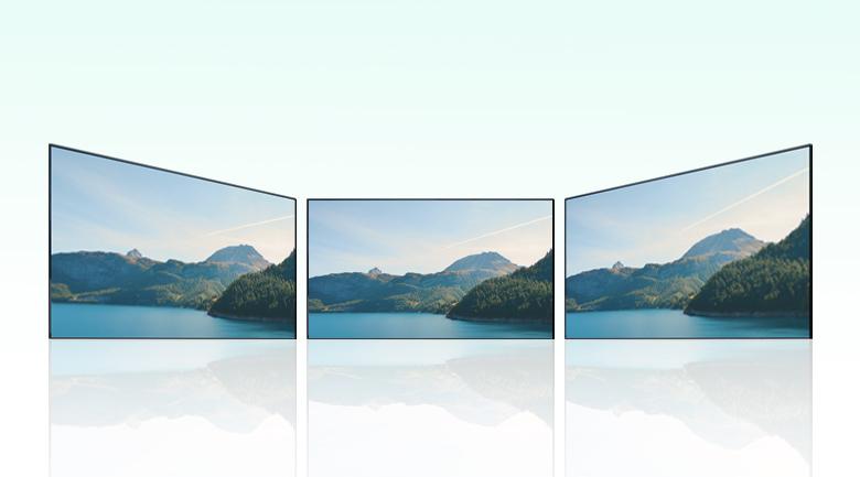 Android Tivi Sony 4K 55 inch KD-55X9500H - Xem từ mọi góc nhìn với  X-Wide Angle