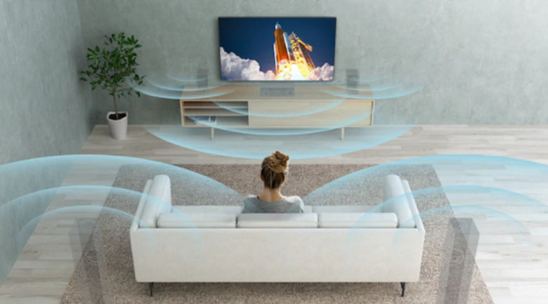 S-Force Front Surround - Android Tivi Sony 4K 55 inch KD-55X9500H