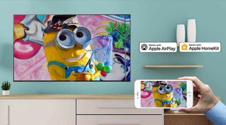 Android Tivi Sony 4K 65 inch KD-65X9500H - Chiếu màn hình điện thoại lên tivi dễ dàng