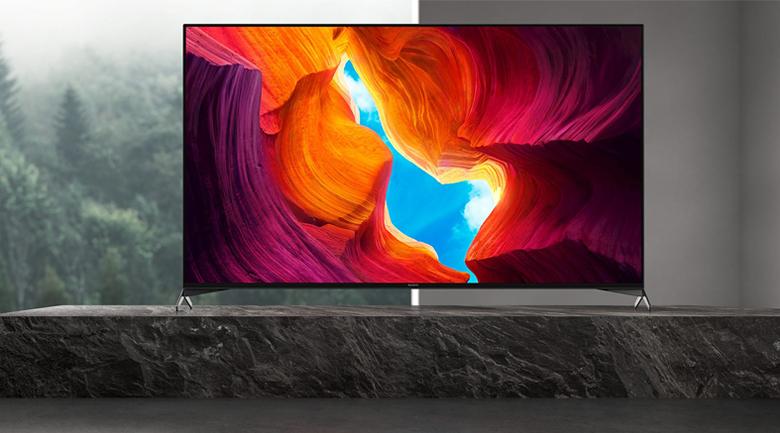 Android Tivi Sony 4K 65 inch KD-65X9500H - Thiết kế hiện đại