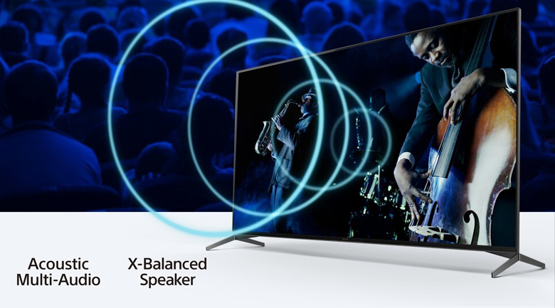 Android Tivi Sony 4K 65 inch KD-65X9500H - Acoustic Multi-Audio