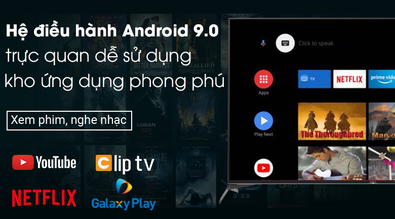 Android Tivi Sony 4K 65 inch KD-65X9500H - Android 9.0