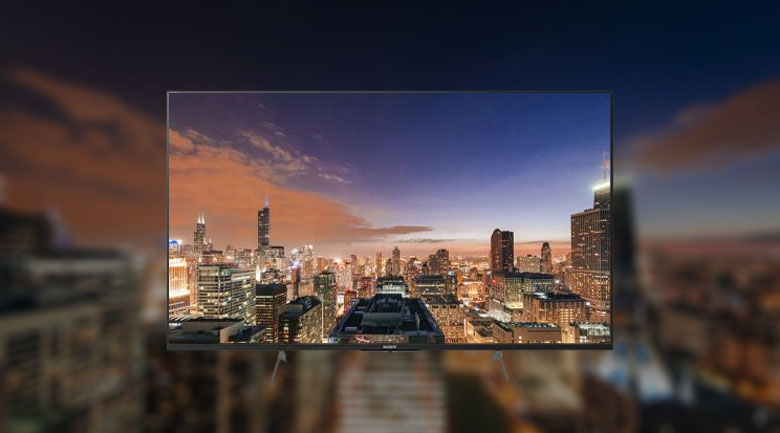 Hình ảnh hiển thị rõ nét với công nghệ X-tended Dynamic Range PRO
