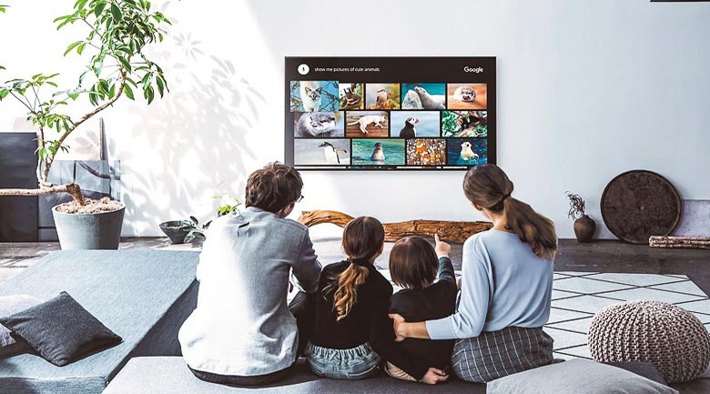 Tivi Sony 4K 43 inch KD-43X8500H/S - Trợ lý ảo Google Assistant
