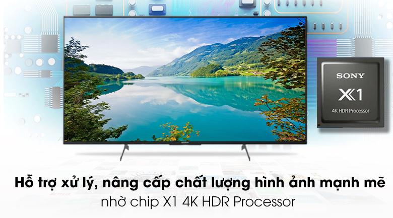 Tivi Sony 4K 43 inch KD-43X8500H/S - Chip X1 4K HDR Processor