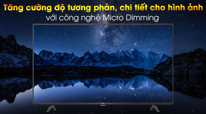 Android Tivi TCL 4K 43 inch 43P615 - Micro Dimming