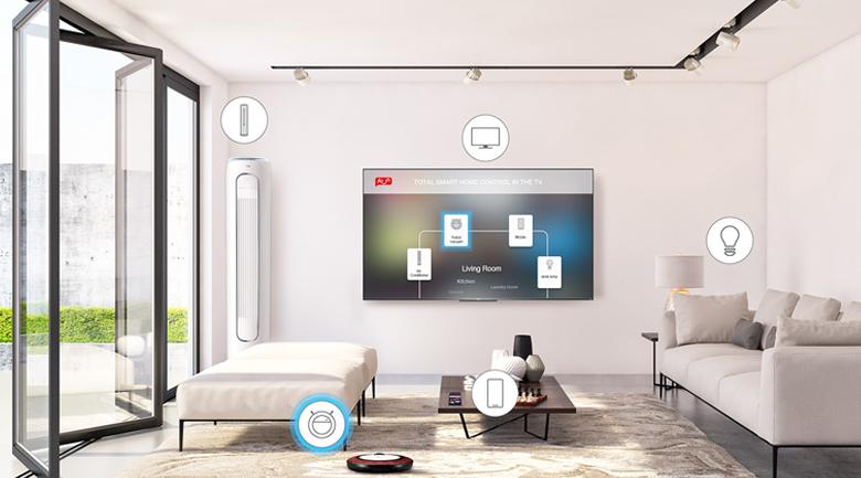 Trí tuệ nhân tạo AI-IN - Android Tivi TCL 4K 50 inch 50P615