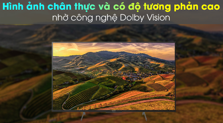 Dolby Vision - Android Tivi Sony 4K 49 inch KD-49X8500H