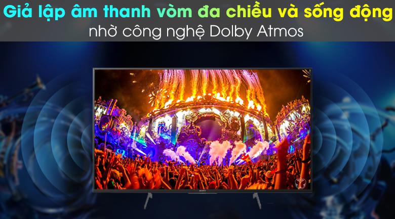 Công nghệ âm thanh Dolby Atmos - Android Tivi Sony 4K 49 inch KD-49X8500H
