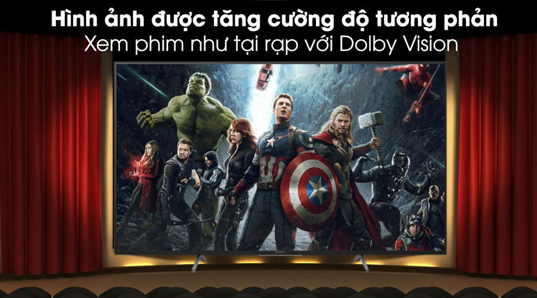 Dolby Vision- Android Tivi Sony 4K 49 inch KD-49X8500H/S